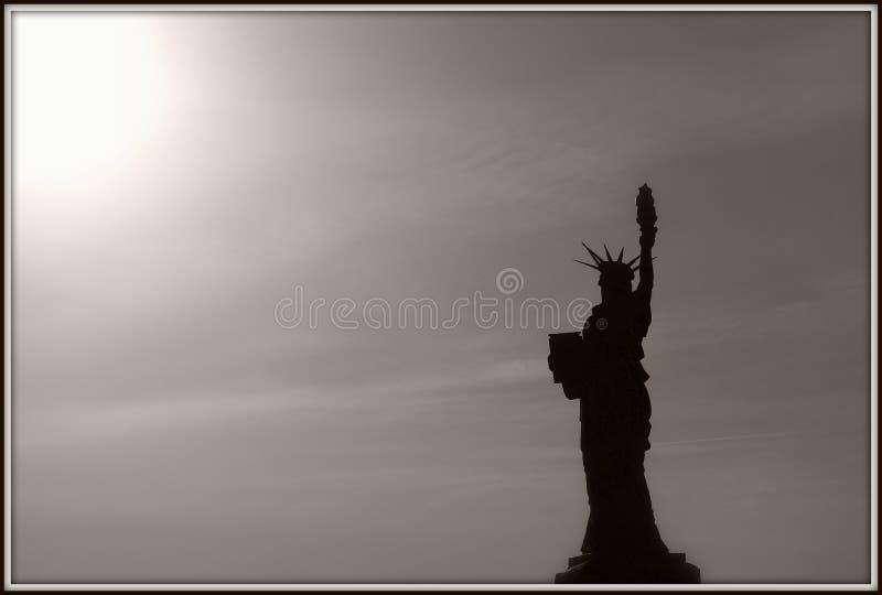 Liberty Statue royalty-vrije stock afbeelding