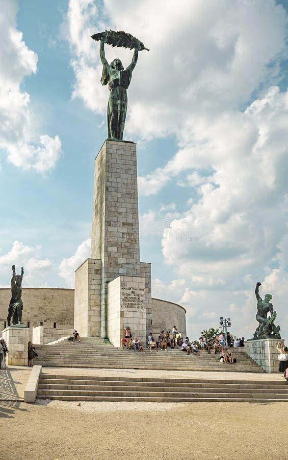 Liberty Statue di Budapest fotografia stock libera da diritti
