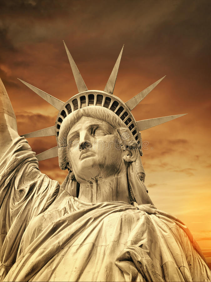 Liberty Statue, New York image stock
