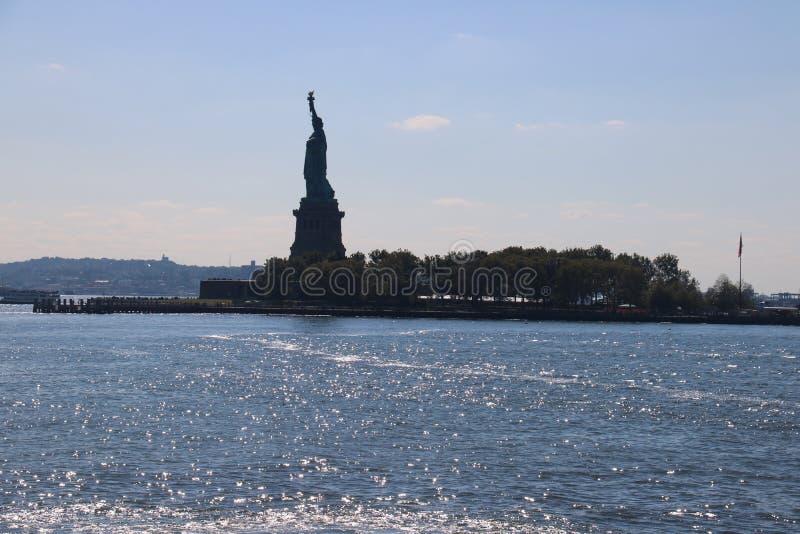 Liberty Statue New York City, Manhattan stock photo