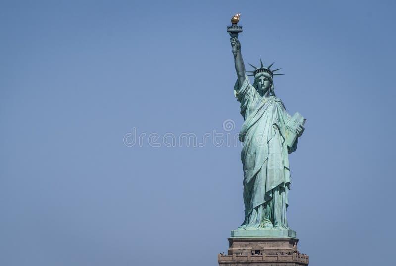Liberty statue. Shot of the liberty statue. New york city stock photo