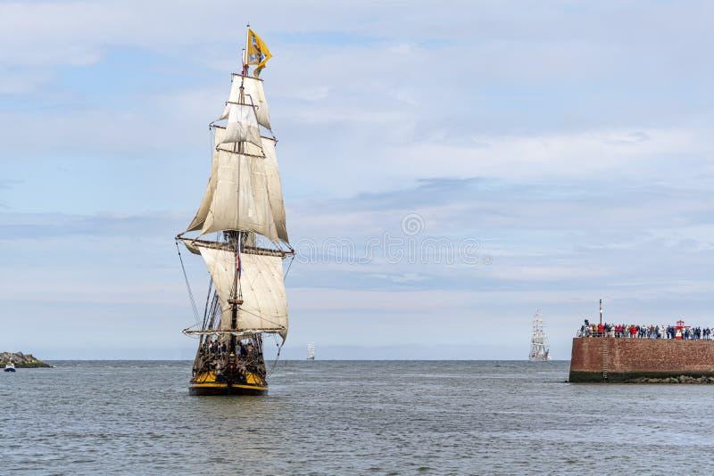 Liberty Tall Ships Regatta Scheveningen lizenzfreies stockfoto