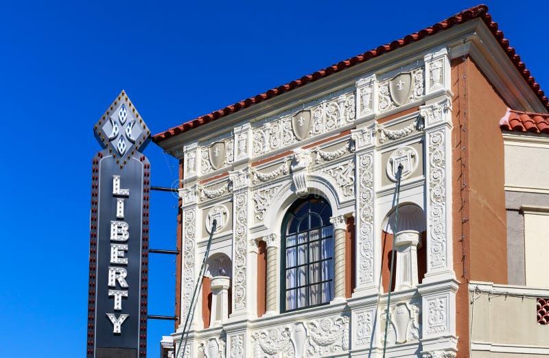 Liberty Theatre fotografering för bildbyråer
