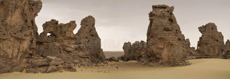 Libijczyk Pustynia fotografia royalty free