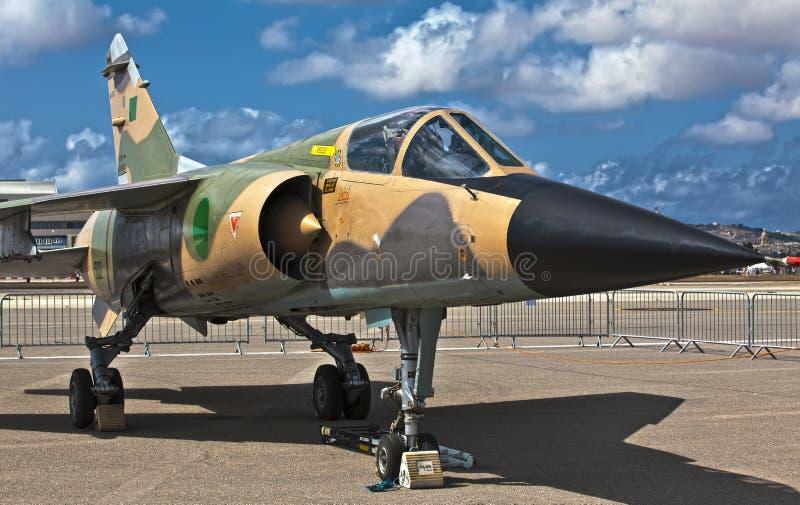 Libisch Reg. 502 van de Luchtspiegeling van de Luchtmacht F1 stock afbeeldingen