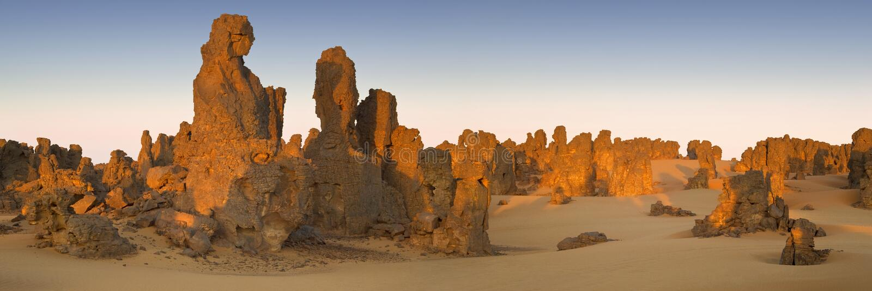 Libische Woestijn stock foto