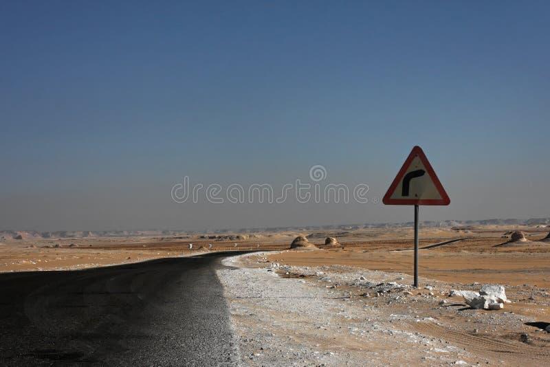 Libische woestijn in West-Egypte royalty-vrije stock afbeelding