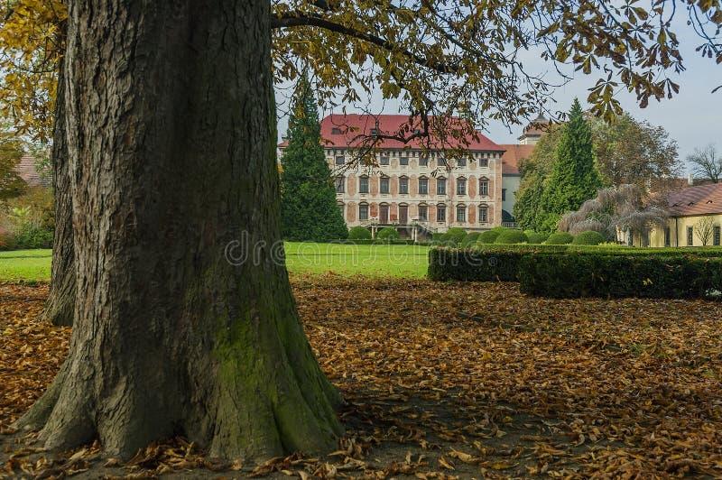 Libochovice城堡/捷克 库存图片