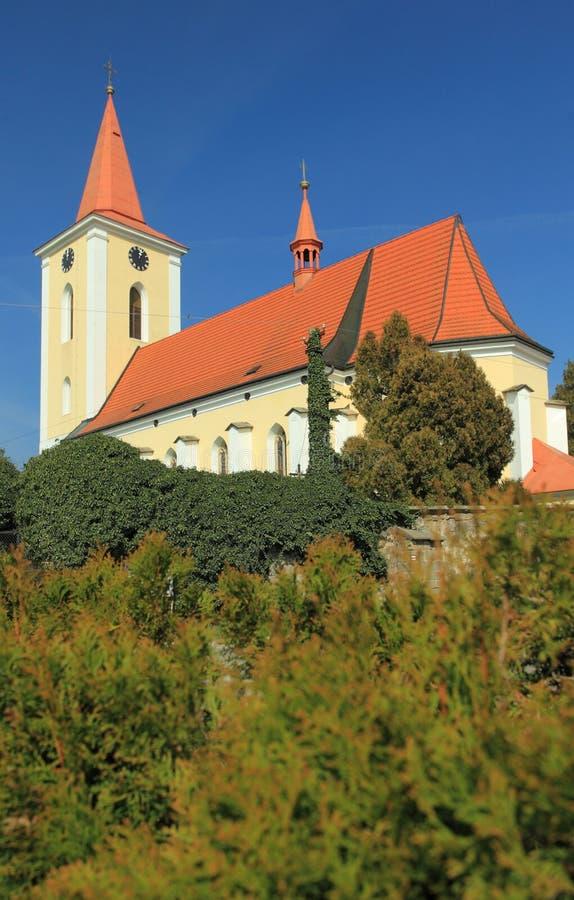 Libosovice kościół zdjęcia stock