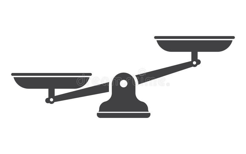 Libra изолированный на белой предпосылке бесплатная иллюстрация