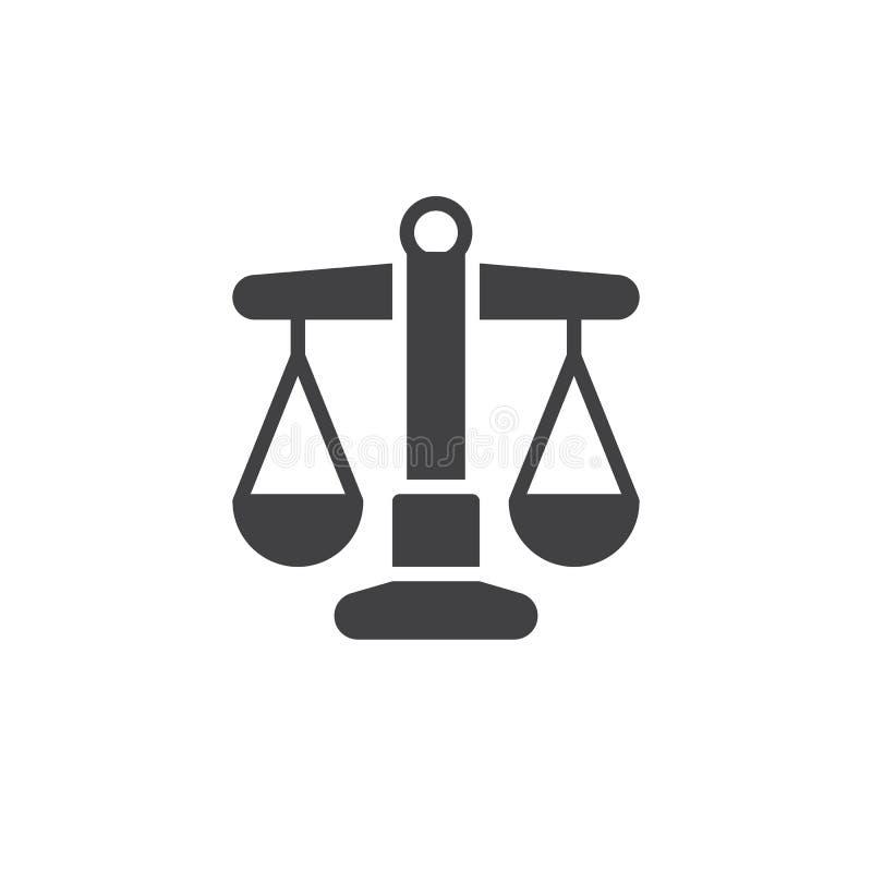 Libra ikony wektor ilustracji