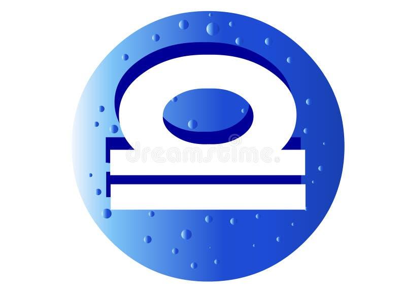 Download Libra Zodiac Sign stock illustration. Image of astrology - 4861130