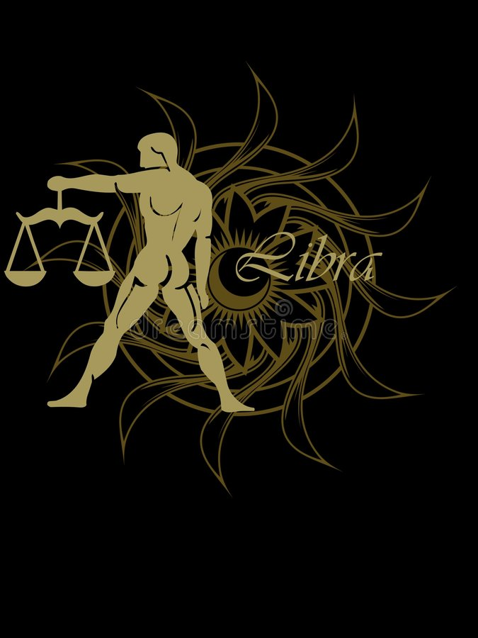 Download Libra zodiac sign stock illustration. Illustration of signs - 8848586