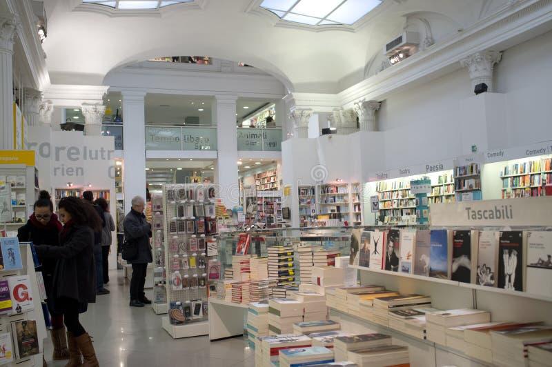 Librairie à Rome photographie stock libre de droits