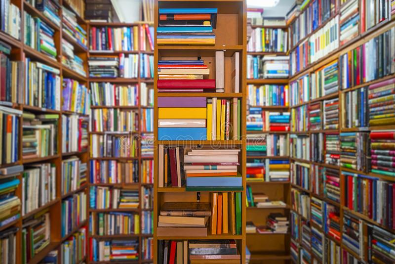 Librairie photographie stock libre de droits