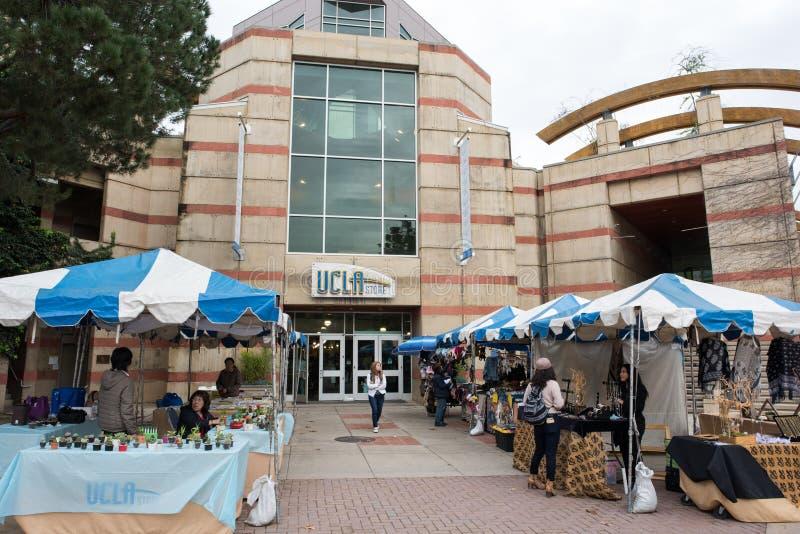 Librairie d'UCLA photo libre de droits
