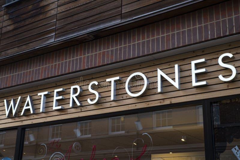Librairie de Waterstones photographie stock