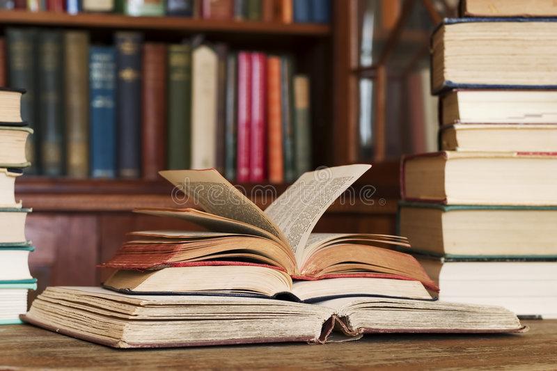 Download Library stock photo. Image of pile, bibliomania, antiquated - 2832092