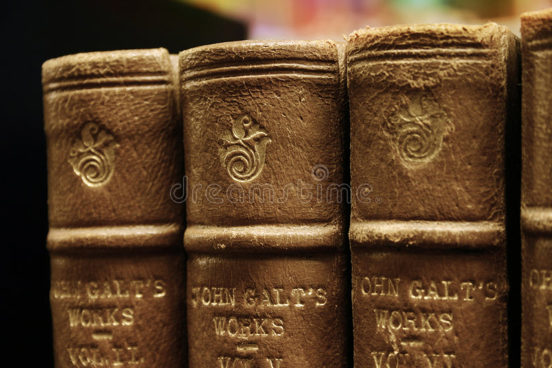 Library books royalty free stock image