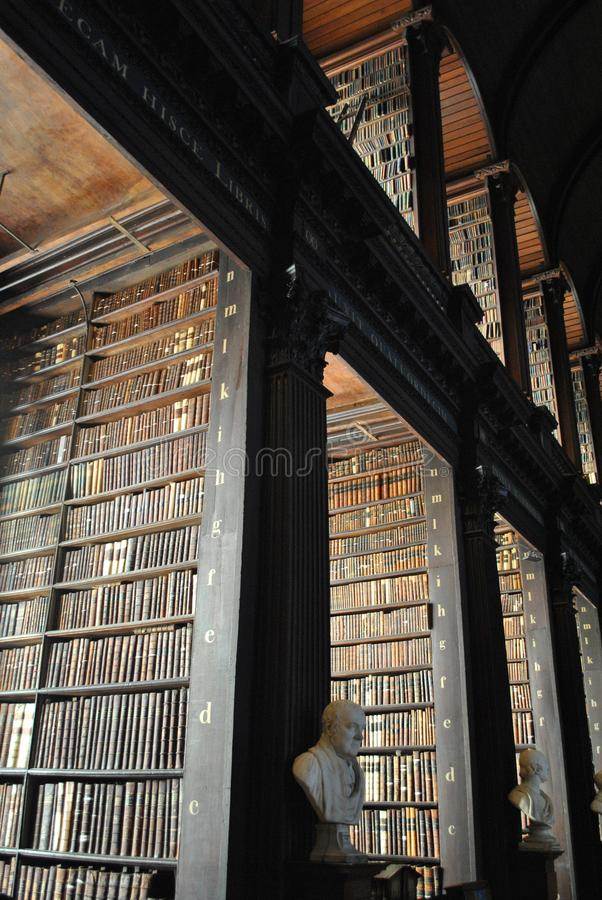 Books, books and books, only old books stock image