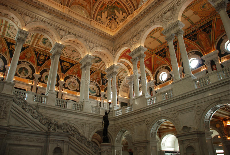 Library of Congress royalty free stock image