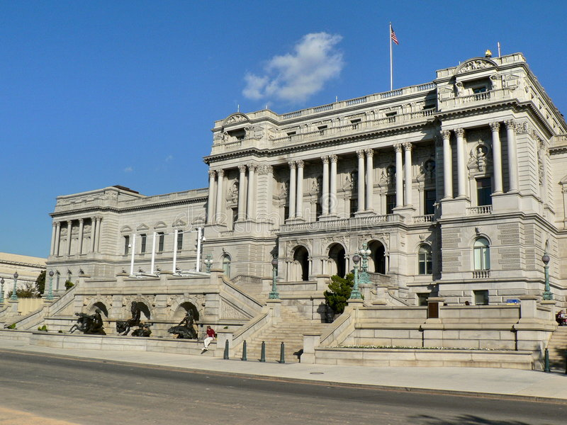 Download Library of Congress stock photo. Image of pillars, architecture - 1416314