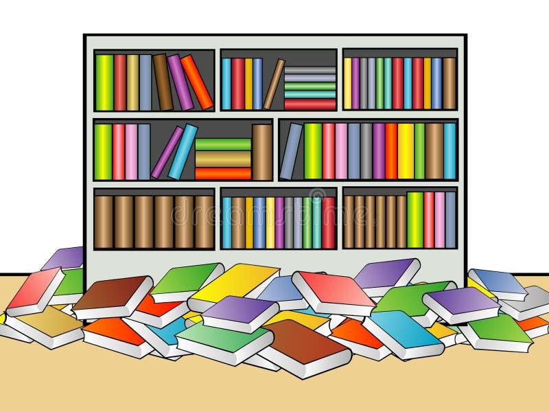 Library Illustration vector illustration