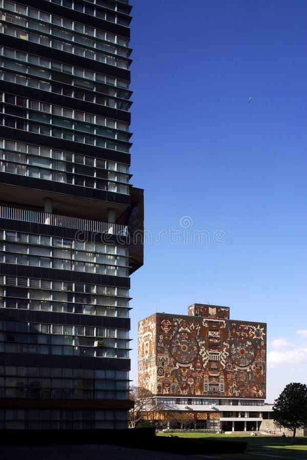 Download Library Of National University Of Mexico Editorial Photography - Image: 9759722