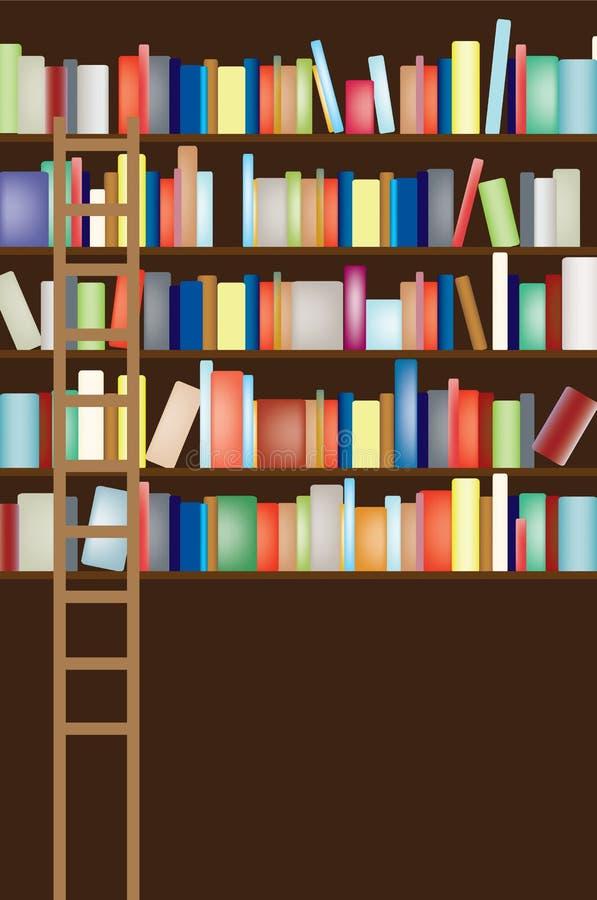 Library shelf full