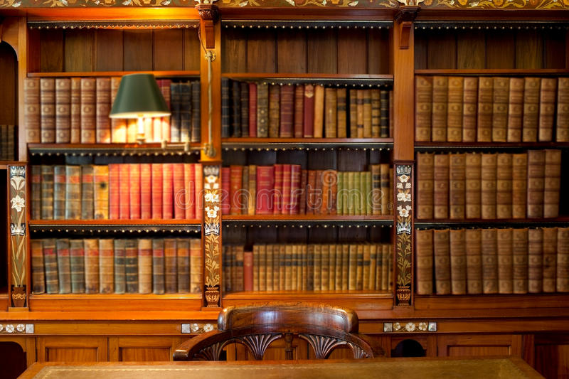 Download Library Shelves And Table Royalty Free Stock Images - Image: 20784999