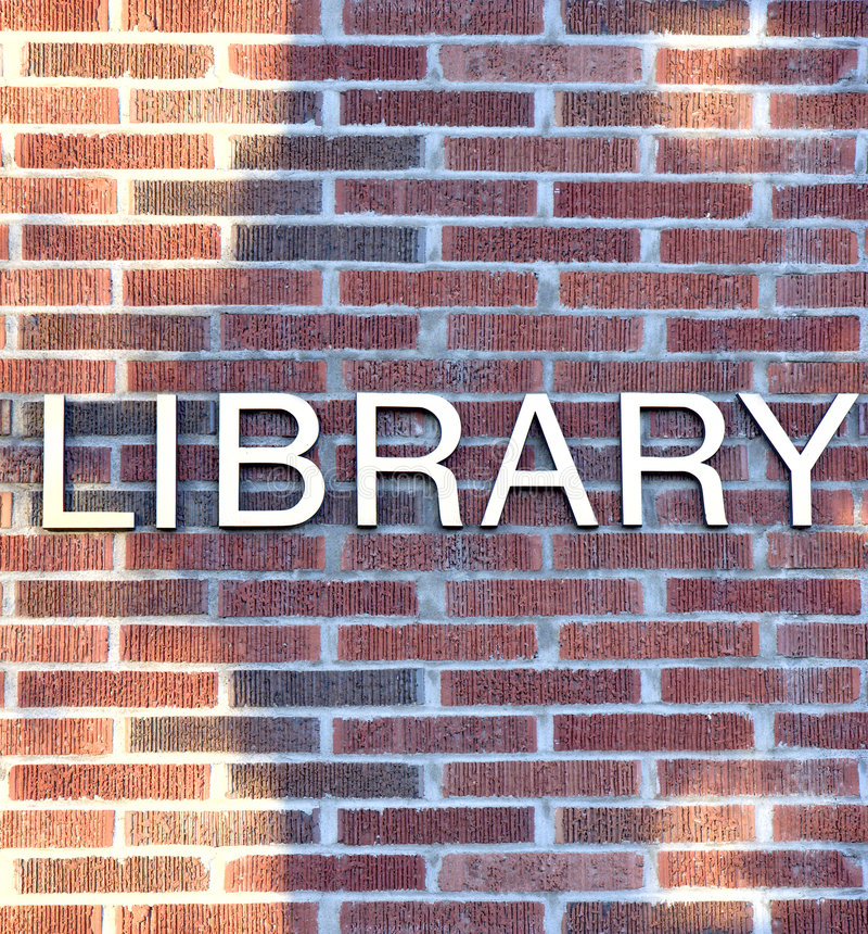 Download Library Sign stock photo. Image of background, sign, pattern - 6926958