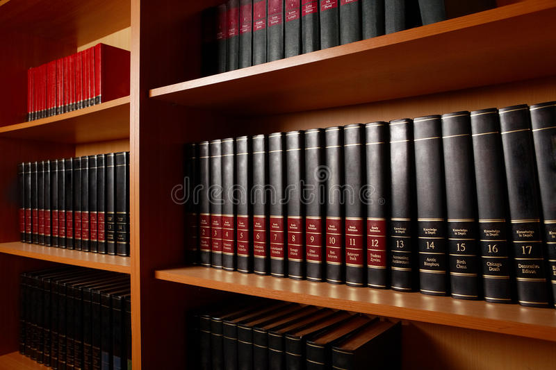 Library Stand Royalty Free Stock Image