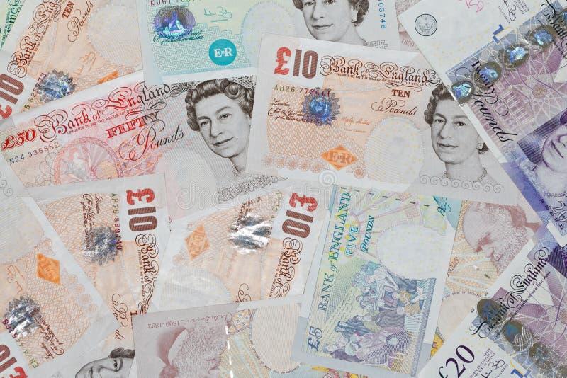 Libras britânicas foto de stock royalty free