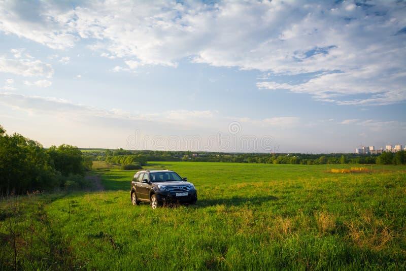 Librazione H3 della grande muraglia di SUV di cinese immagini stock libere da diritti