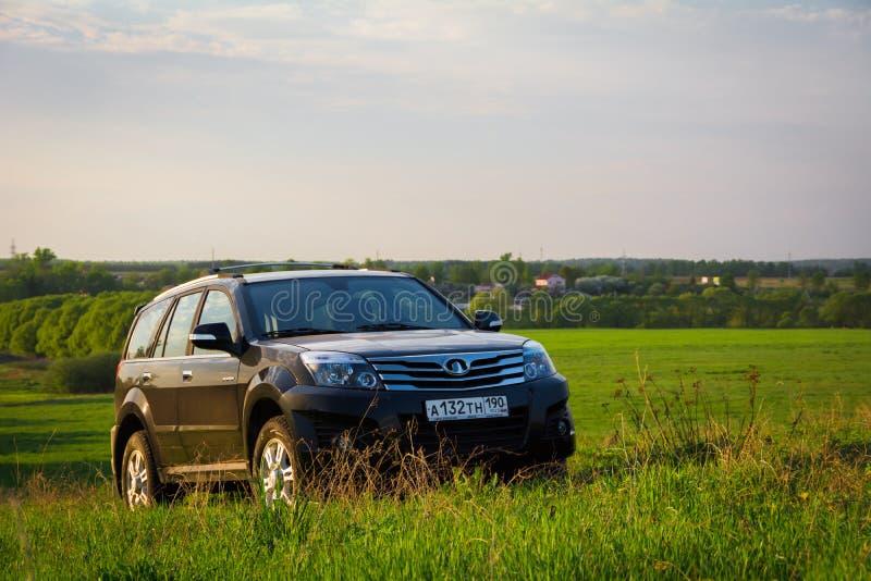 Librazione H3 della grande muraglia di SUV di cinese immagini stock