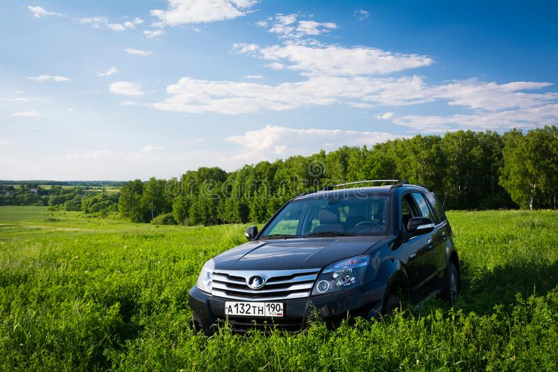 Librazione H3 della grande muraglia di SUV di cinese fotografia stock libera da diritti