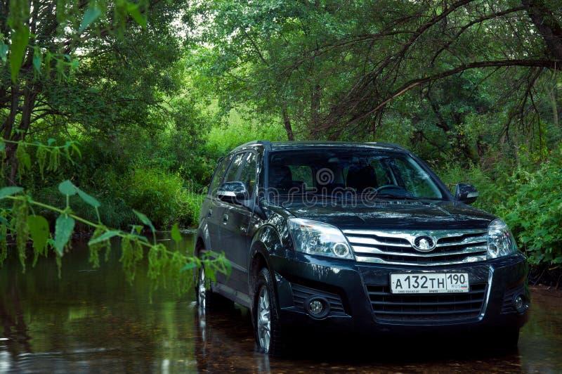 Librazione H3 della grande muraglia di SUV di cinese fotografie stock