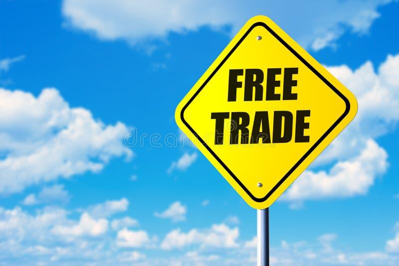 Libre échange image stock