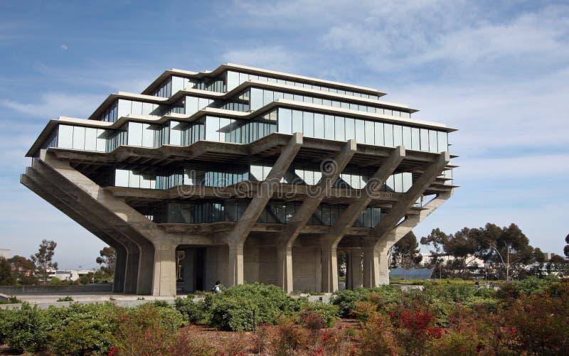 Libreria di Geisel a Uc San Diego immagine stock
