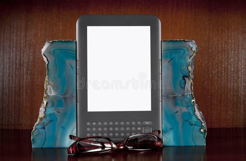 Libreria elettronica fotografia stock