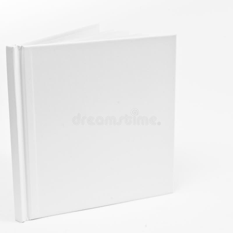 Libretto bianco in bianco immagini stock libere da diritti