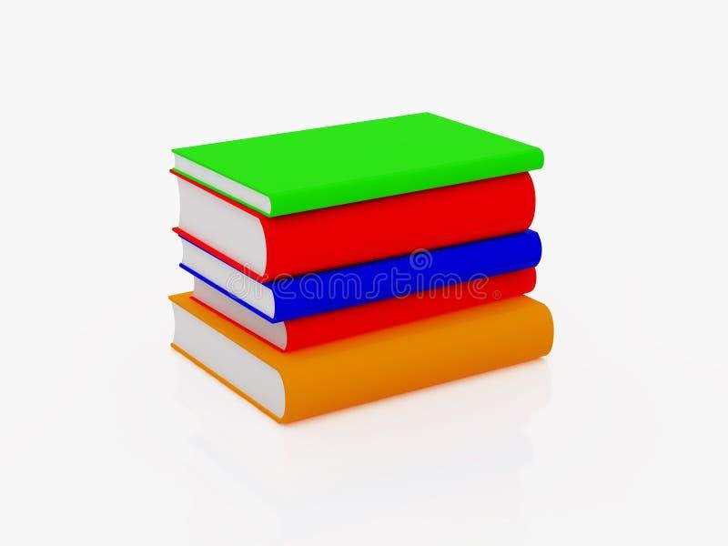 Libri illustrazione di stock