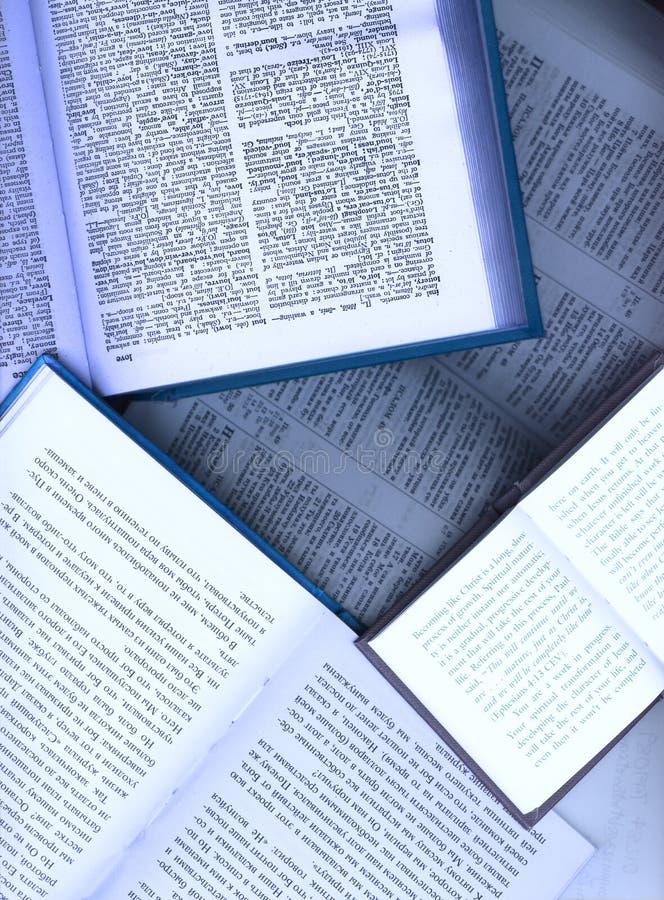 Libri aperti immagini stock libere da diritti