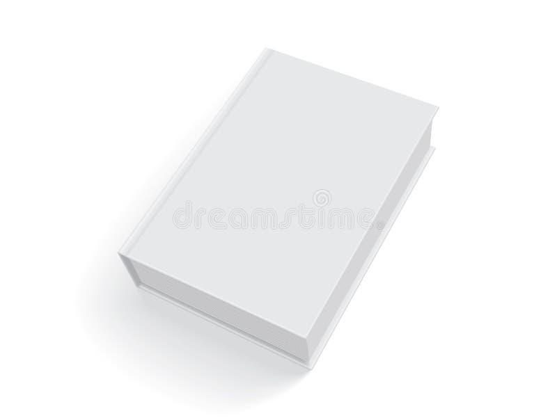 Libri bianchi con la copertura spessa illustrazione di stock