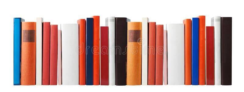 Libri in bianco su bianco fotografia stock libera da diritti