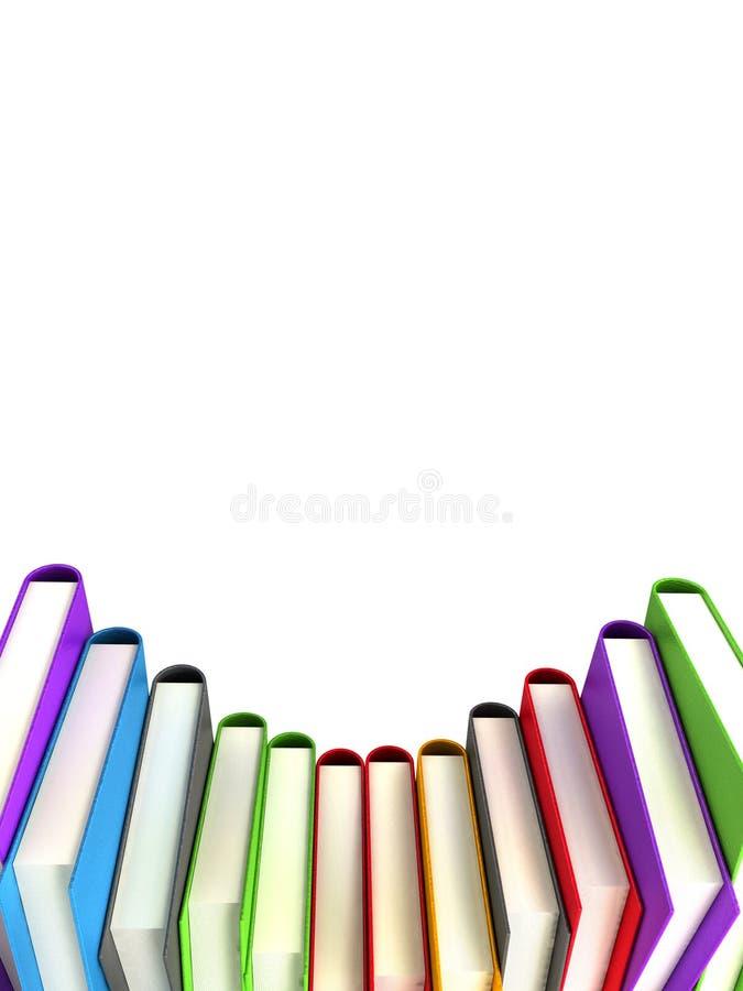 Libri colorati #2 illustrazione vettoriale