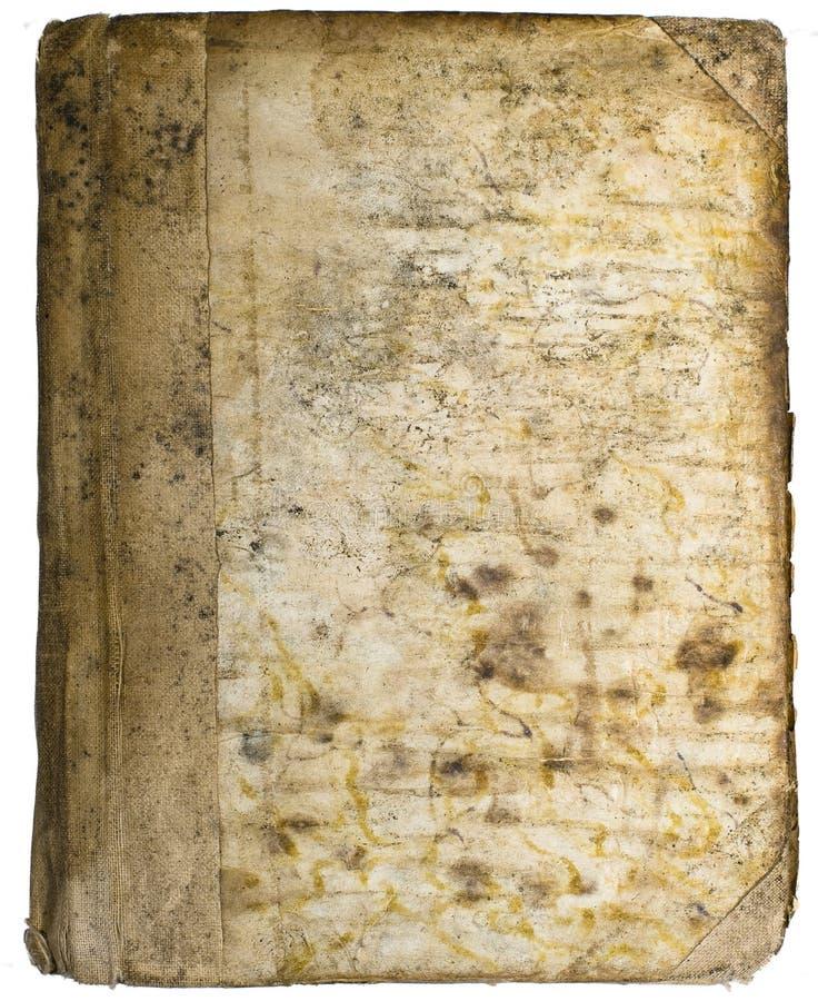 Libri del antiquarian del coperchio fotografia stock