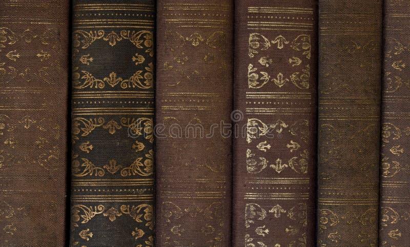 Libri dell'annata fotografie stock libere da diritti