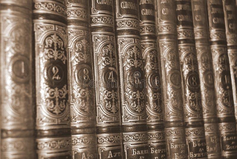 Libri della libreria di numero, ricerca immagine stock libera da diritti