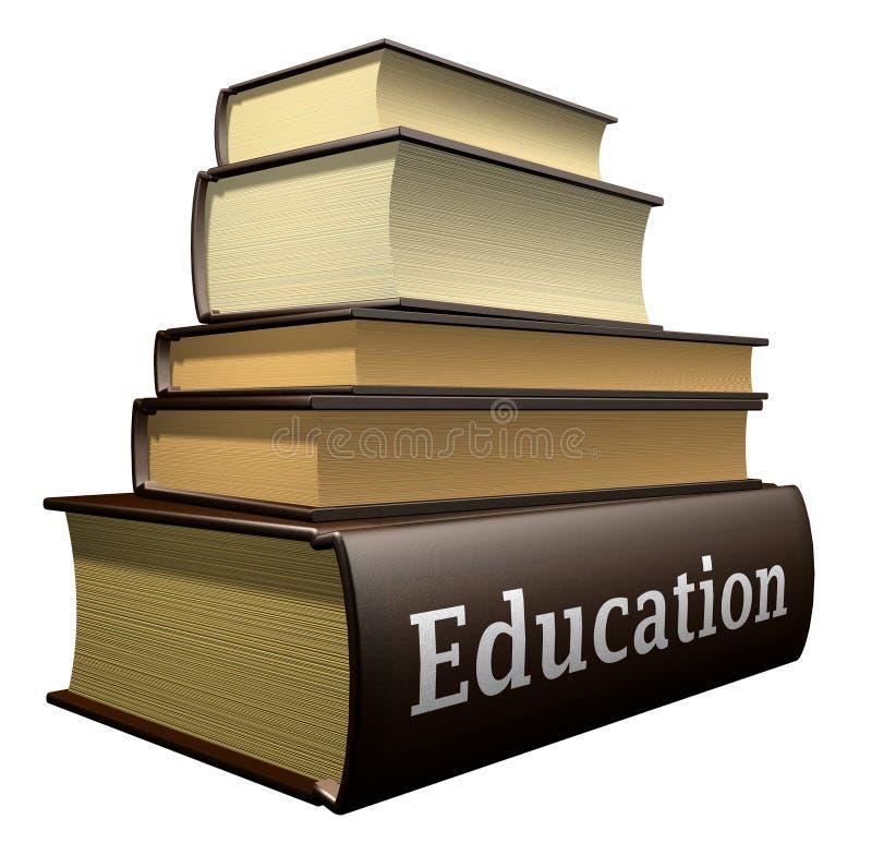 Libri di formazione illustrazione di stock